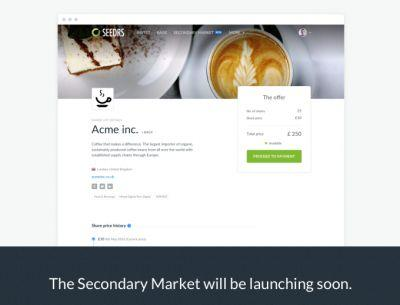 Equity crowdfunding platform Seedrs to launch secondary market