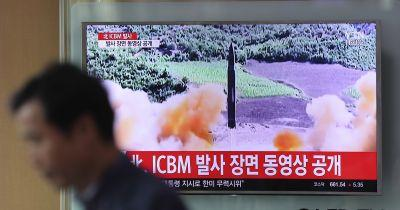 S. Korea fires missiles in drills amid standoff with North