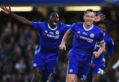 John Terry times exit perfectly as he leads Chelsea title party at Stamford Bridge