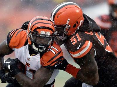 Browns LB Collins out rest of season with right knee sprain