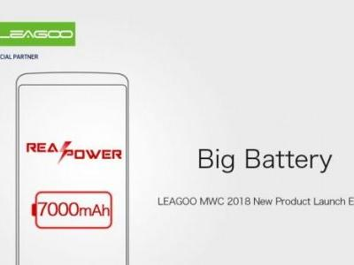 LEAGOO Power 5 with 7000 mAh battery will be their MWC highlight