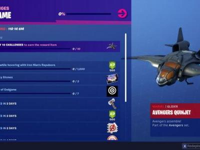 Fortnite Avengers: Endgame Challenges - Collect Infinity Stones, Use Iron Man's Repulsors, And More