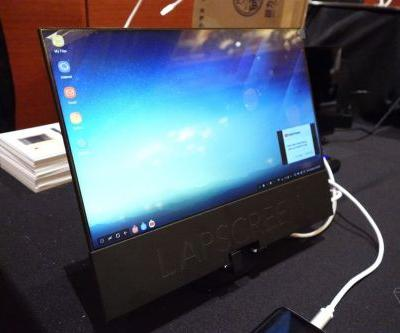 The Lapscreen is a paper-thin 12.5-inch USB-C monitor you can take anywhere