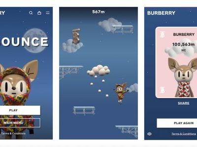Burberry Get into E-Sports as They Launch B Bounce, Their First Online Game
