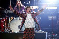 Harry Styles Performs 'Only Angel' in Custom Gucci: Watch