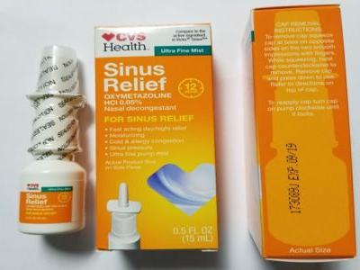 CVS nasal spray recalled amid fears of 'microbiological contamination'