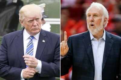 Angry Gregg Popovich can't even say Trump's name