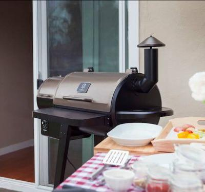 This wood pellet grill is surprisingly versatile and easy to use - I got delicious, smoky flavors without the hassle
