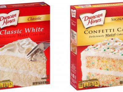 Duncan Hines recalled 4 cake mixes for potential salmonella contamination - here's how to know if yours is affected
