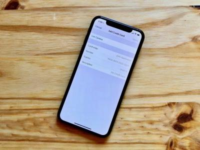 How to add credit cards to Safari's AutoFill on iPhone