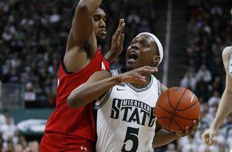 No. 9 Maryland beats Michigan State 67-60 with 14-0 run