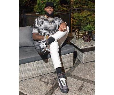 LeBron James Wears Early, Unreleased Pair of Off-White™ x Nike Blazer in Black