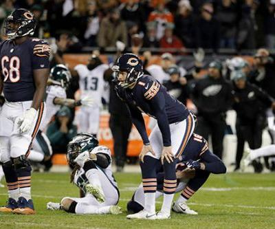 Parkey takes blame for loss as Bears tell his haters: 'F-k you'
