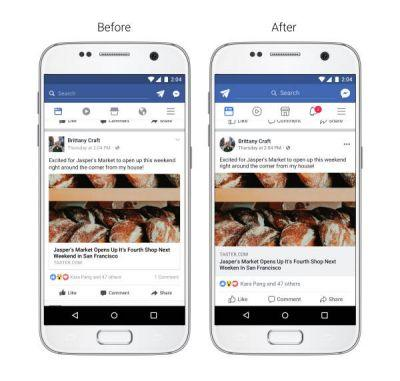 Facebook Updates Its News Feed To Make It More Legible