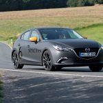 Driving Mazda's Next Mazda 3 with Its Skyactiv-X Compression-Ignition Gas Engine - Prototype Drive