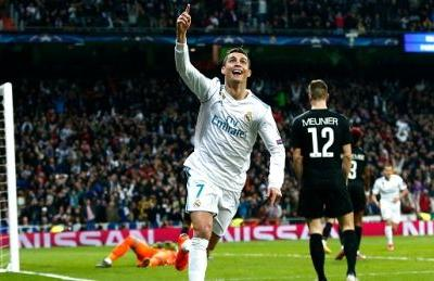 Champions League: Ronaldo nets 2, Real Madrid come back to beat PSG