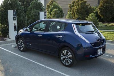 New Nissan Leaf Seen In Leaked Images