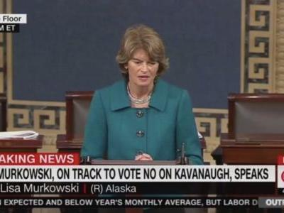 Trump Blasts Murkowski: She'll 'Never Recover' from Voting 'No' on Kavanaugh