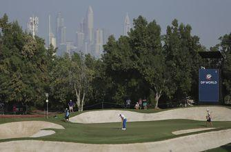 Defending champ Fitzpatrick leads by one stroke in Dubai