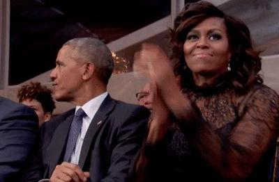 The Obamas showed us their moves at a Beyoncé concert