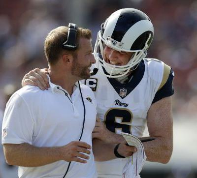 Goff, McVay begin partnership in Rams' 46-9 rout of Colts