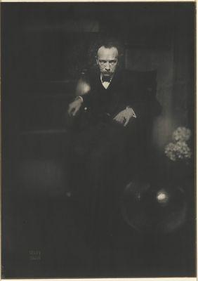 Richard Strauss by Edward J. Steichen, 1904, printed 1906