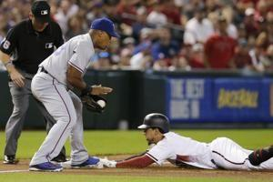 Choo drives in 4 in Rangers' 9-5 win over Diamondbacks