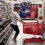 So This Mom Got Shamed For Squeezing In a Workout at Target, Because of Course She Did