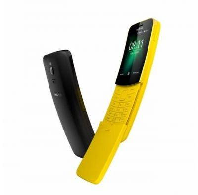Nokia 8110 4G Banana Phone Launched