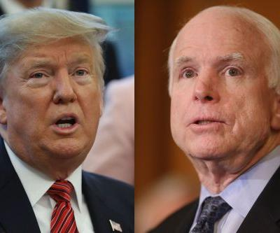 Trump attacks late Sen. John McCain over role in spreading Russia dossier