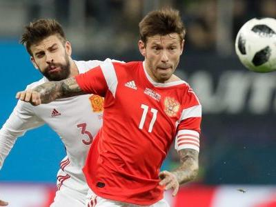 Sergio Ramos scores two for Spain in high-scoring draw with Russia