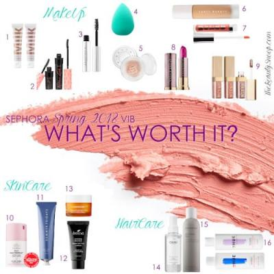 WHAT'S WORTH IT? VIB SALE RECCOMENDATIONS