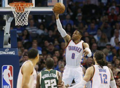 Westbrook ties Robertson's season triple-double record of 41