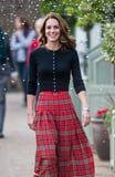 Kate Middleton's Festive Midi Skirt Will Have You Wishing It Was Christmas Already