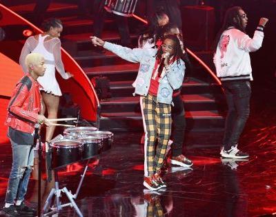 Watch N.E.R.D. & Migos Play The 2018 NBA All-Star Game Halftime Show
