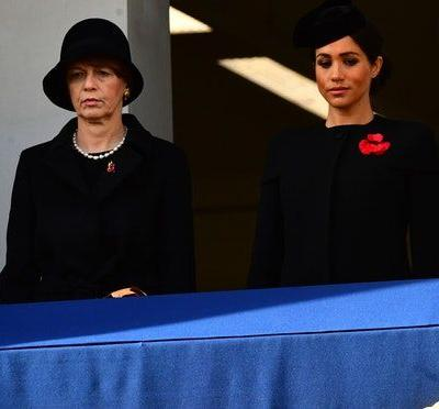 Meghan Markle Didn't Stand With The Queen At The Remembrance Day Ceremony, & This Might Be Why