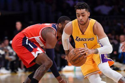 Lakers agree to trade D'Angelo Russell, Timofey Mozgov to Nets for Brook Lopez and 27th pick