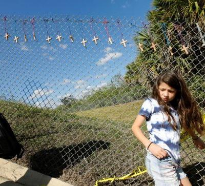 Florida students who survived school shooting gain traction with 'Never again' movement