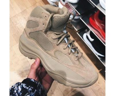 A First Look at the YEEZY Season 6 Construction Boot