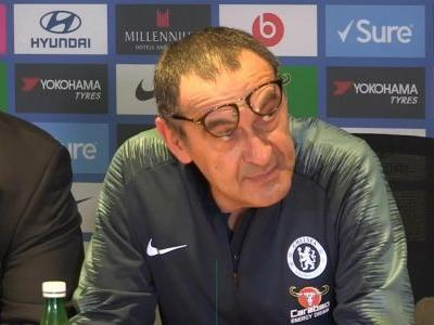 I was really happy in the first half - Sarri on Hazard
