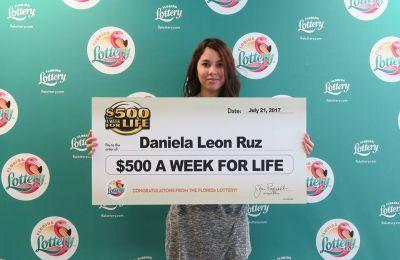 Orlando 18-year-old wins $26,000 a year for life