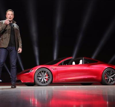 Elon Musk says Tesla's new Roadster will be the fastest production car ever made - here's what it looks like
