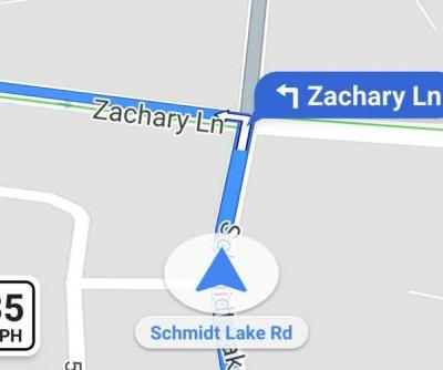 Google Maps navigation getting speed limits, speed cameras and traps at last