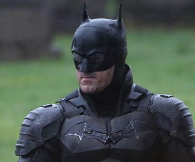 Robert Pattinson's 'The Batman' suit revealed in leaked movie set photos