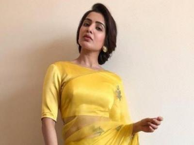 Samantha Akkineni looks jaw-droppingly gorgeous in a saree