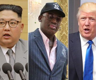 Dennis Rodman praises Trump for planned meeting with Kim