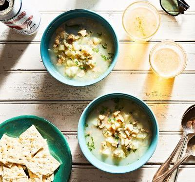 For Clam Chowder That Actually Tastes Like Clams, Hold the Cream