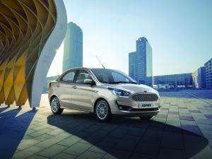 Ford Aspire Bookings Open At Rs 11000