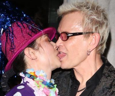 Billy Idol makes out with China Chow and more star snaps