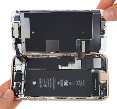 IFixit's iPhone 8 teardown finds a smaller battery and lots of glue